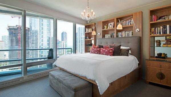 Những mẫu giường kiêm tủ lưu trữ đơn giản cho nhà chật 2