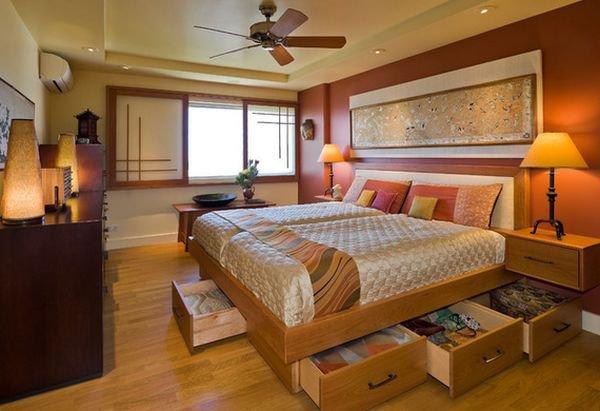 Những mẫu giường kiêm tủ lưu trữ đơn giản cho nhà chật 3