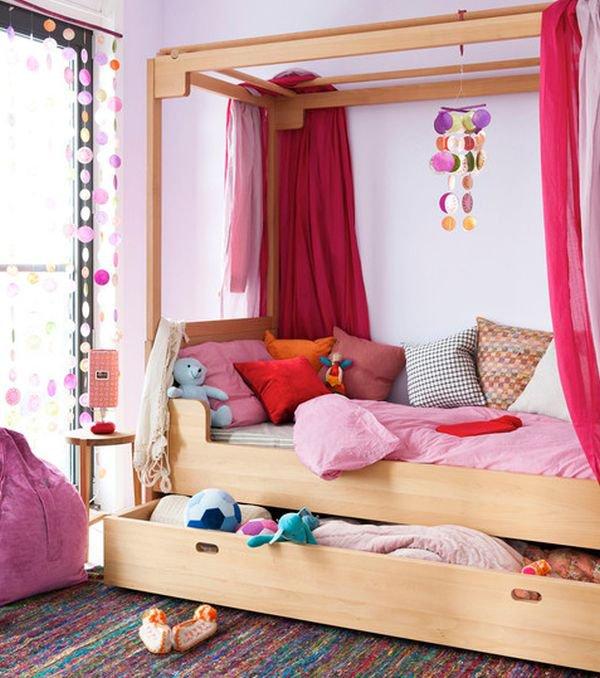 Những mẫu giường kiêm tủ lưu trữ đơn giản cho nhà chật 6