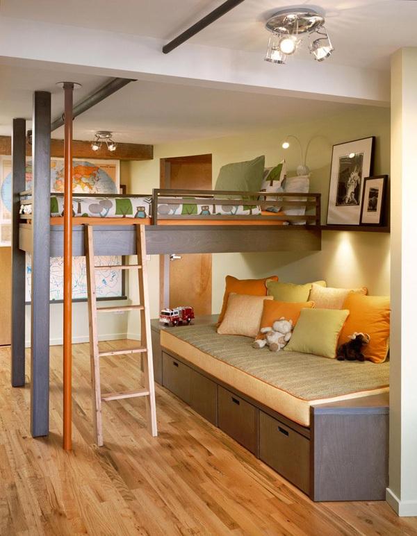 Những mẫu giường kiêm tủ lưu trữ đơn giản cho nhà chật 7