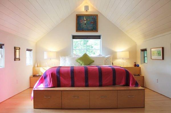Những mẫu giường kiêm tủ lưu trữ đơn giản cho nhà chật 1