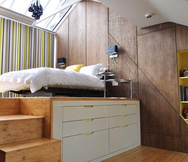 Những mẫu giường kiêm tủ lưu trữ đơn giản cho nhà chật 4