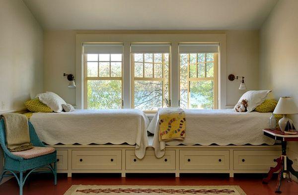 Những mẫu giường kiêm tủ lưu trữ đơn giản cho nhà chật 5