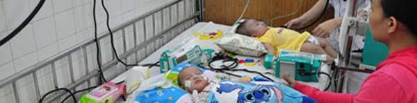 Nhiều trẻ mắc bệnh hô hấp, tiêu hóa sau Tết 2