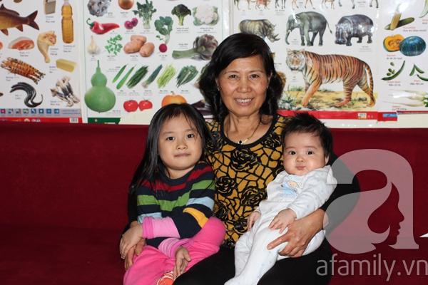 Gặp bà mẹ có nhiều bí quyết nuôi con khéo 4