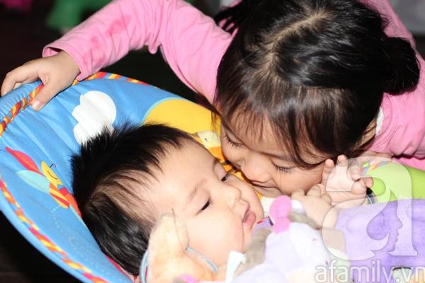 Gặp bà mẹ có nhiều bí quyết nuôi con khéo 1