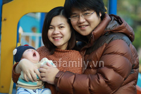 Gặp bà mẹ xinh xắn và chăm con rất khéo 2
