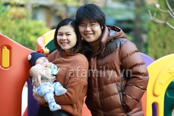 Gặp bà mẹ xinh xắn và chăm con rất khéo 5