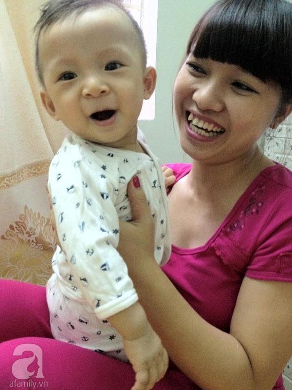 Gặp bà mẹ xinh xắn khéo chăm con đầu lòng 2