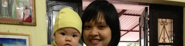 Gặp bà mẹ xinh xắn khéo chăm con đầu lòng 6