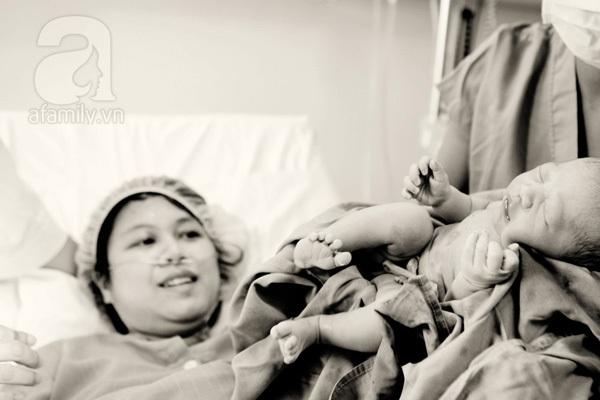 Những thước ảnh tuyệt vời trong một ca sinh thường của mẹ Việt 12