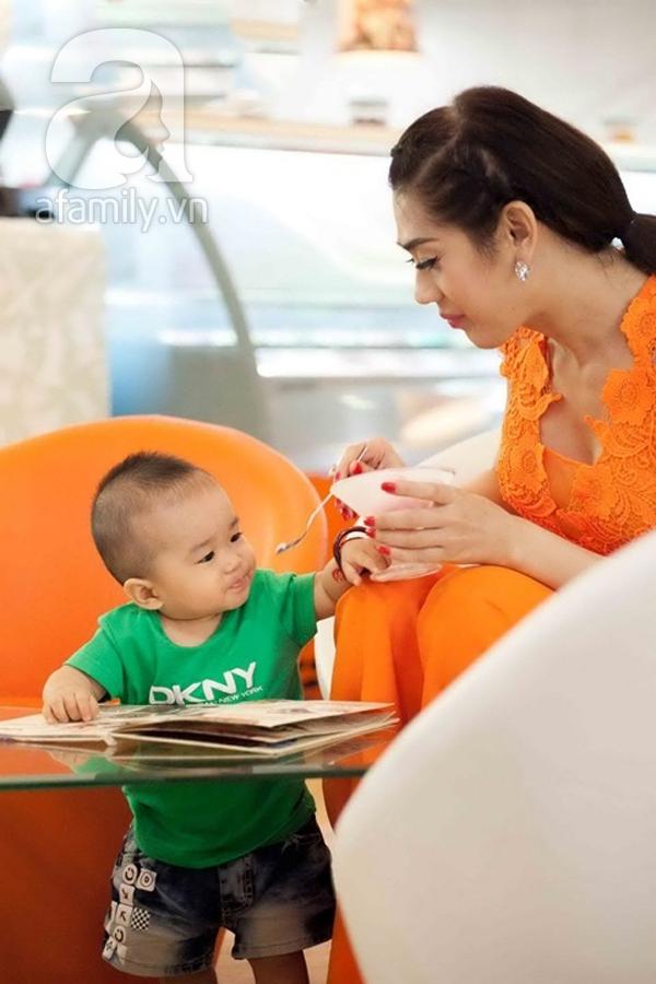 Lâm Chi Khanh và câu chuyện làm mẹ ở
