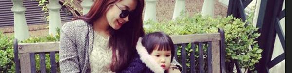 Cựu hot girl Diệp Bảo Ngọc mộc mạc với vai trò làm mẹ 11