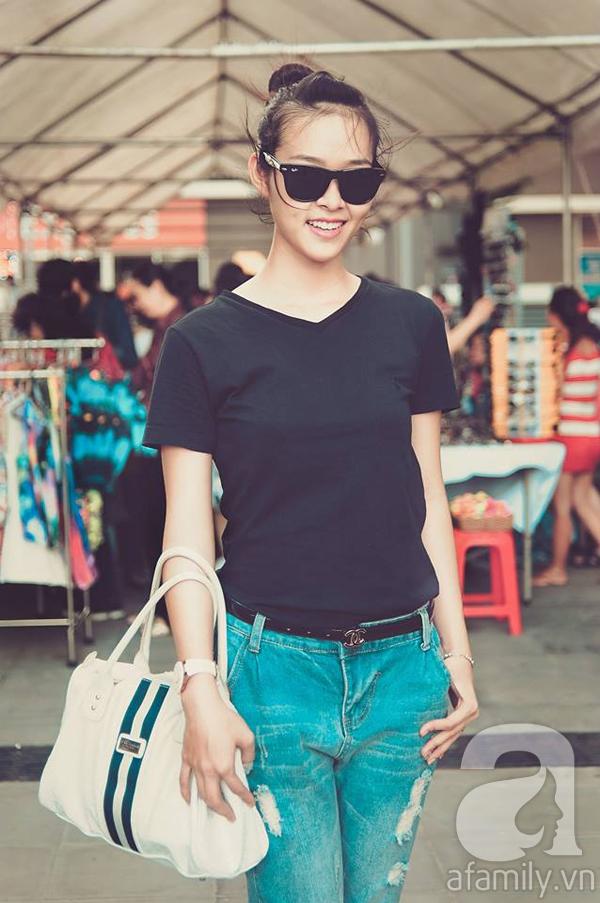 Cựu hot girl Diệp Bảo Ngọc mộc mạc với vai trò làm mẹ 1