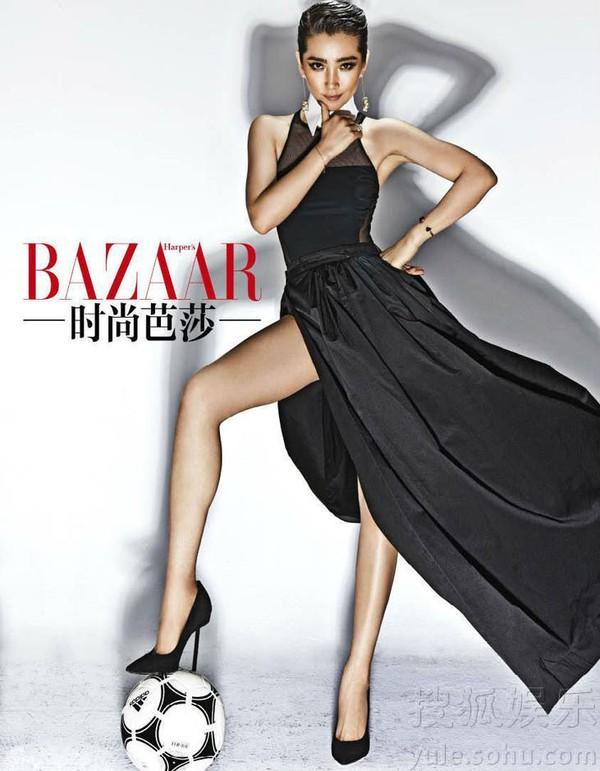 Lâm Chí Linh - Mỹ nhân sở hữu đôi chân đẹp nhất Cbiz 11