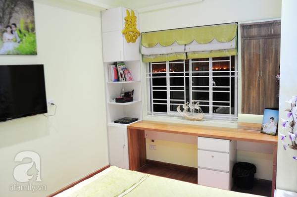 Ngắm hai phòng ngủ đẹp lung linh sau khi cải tạo ở Hà Nội 12