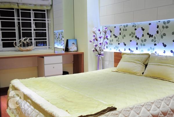 Ngắm hai phòng ngủ đẹp lung linh sau khi cải tạo ở Hà Nội 14
