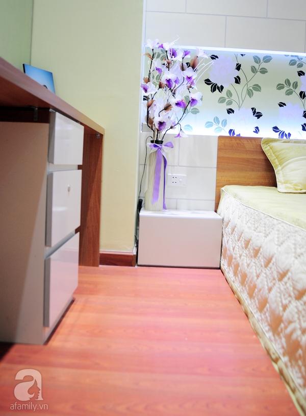 Ngắm hai phòng ngủ đẹp lung linh sau khi cải tạo ở Hà Nội 15