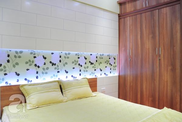 Ngắm hai phòng ngủ đẹp lung linh sau khi cải tạo ở Hà Nội 17