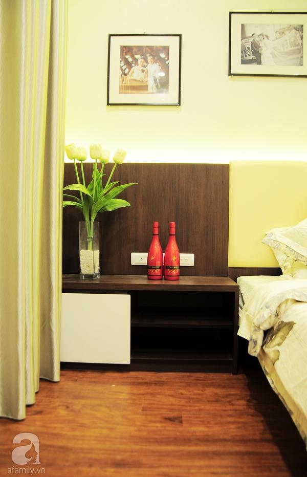 Ngắm hai phòng ngủ đẹp lung linh sau khi cải tạo ở Hà Nội 9
