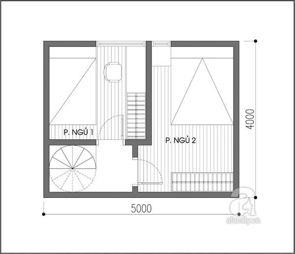 Tư vấn cải tạo và thêm phòng ngủ cho ngôi nhà 20m² 2