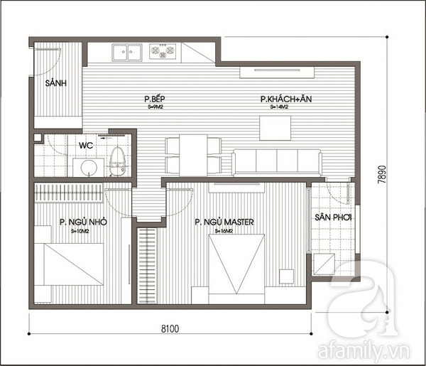 Tư vấn cải tạo căn hộ chung cư hạn chế sửa chữa 2