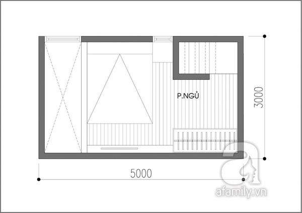 Tư vấn thiết kế căn hộ 15m² đầy đủ chức năng 3