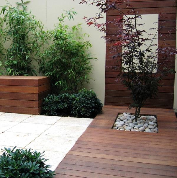 Tư vấn thiết kế để nhà 33m² có giếng trời và nhiều cây xanh 12