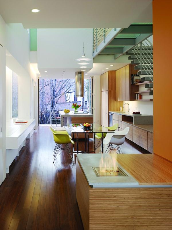 Tư vấn thiết kế để nhà 33m² có giếng trời và nhiều cây xanh 4