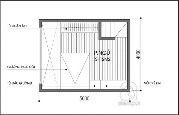 Tư vấn bố trí nội thất nhà 20m² cho gia đình có con nhỏ 2