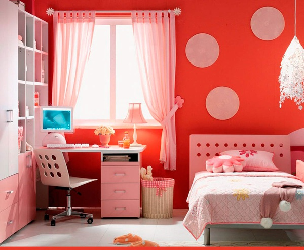 Tư vấn bố trí nội thất phòng ngủ 9m² cho thiếu nữ 2