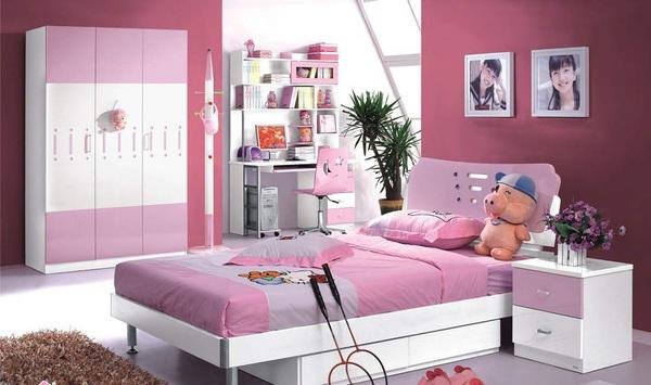 Tư vấn bố trí nội thất phòng ngủ 9m² cho thiếu nữ 7