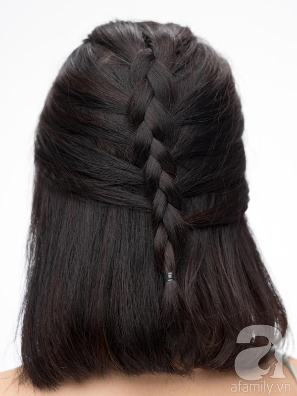 tự làm tóc