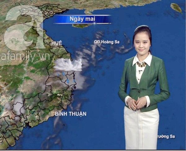Ngắm nhan sắc xinh đẹp của các MC dự báo thời tiết 5
