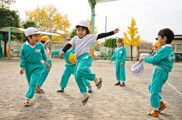 trẻ em Nhật 5