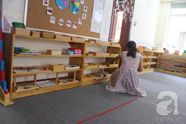Lớp học Montessori