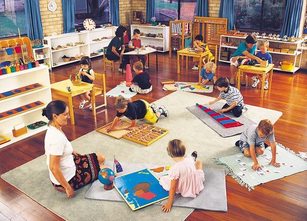 Lớp học Montessori 3