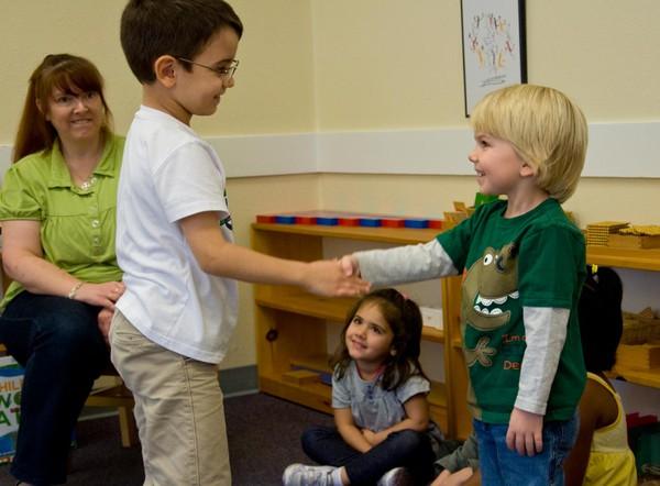 Lớp học Montessori 1