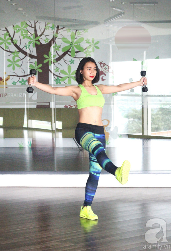 15 phút tập giảm cân