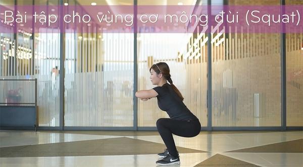 lỗi sai khi tập squat