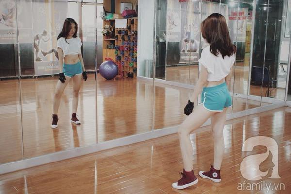 quyến rũ nhờ tập gym