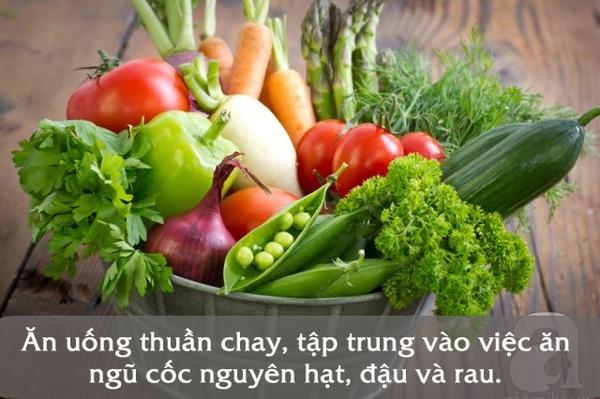 chế độ ăn giải độc cơ thể