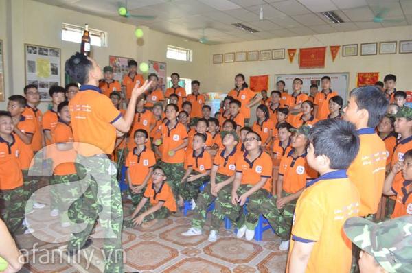 Nhật ký 10 ngày đi lính của những đứa trẻ thành phố 14