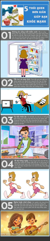 5 thói quen đơn giản bạn nên làm hàng ngày để luôn khỏe 1
