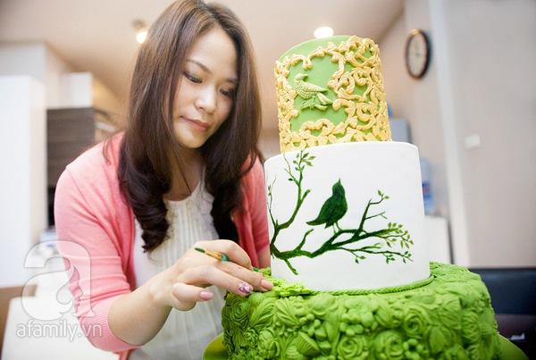Người phụ nữ với đam mê đặc biệt: Vẽ tranh bằng... bánh ngọt 11