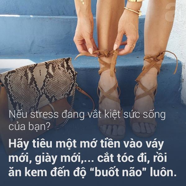 vượt qua căng thẳng