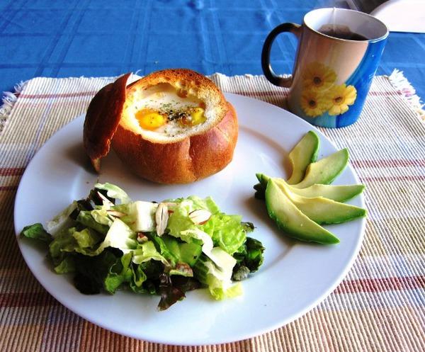 Làm bánh mỳ trứng ngon như nhà hàng 5 sao! 6