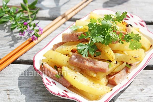 Thêm một cách xào khoai tây nhanh, ngon 1