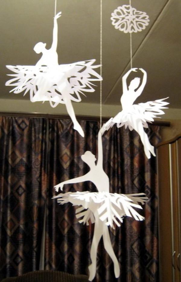 Trang trí Noel với hoa tuyết kirigami tuyệt đẹp 7