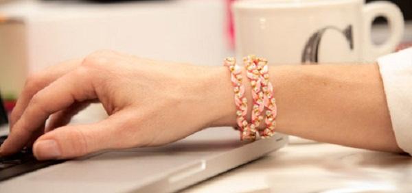Tự làm vòng đeo tay chuỗi ngọc dễ thương 1